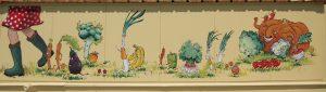 fresque réalisée avec Alan Templier